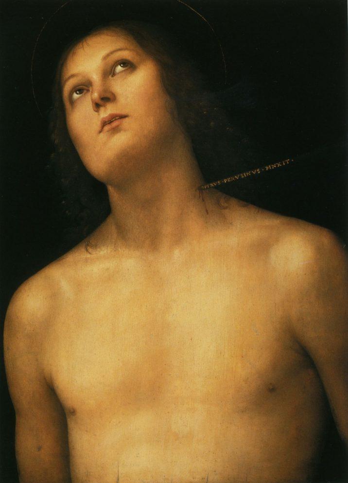 Perugino, San Sebastiano, Ermitage